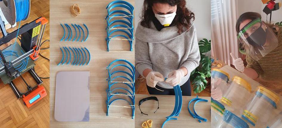 Supsi 3d Prints Protective Masks S Ge