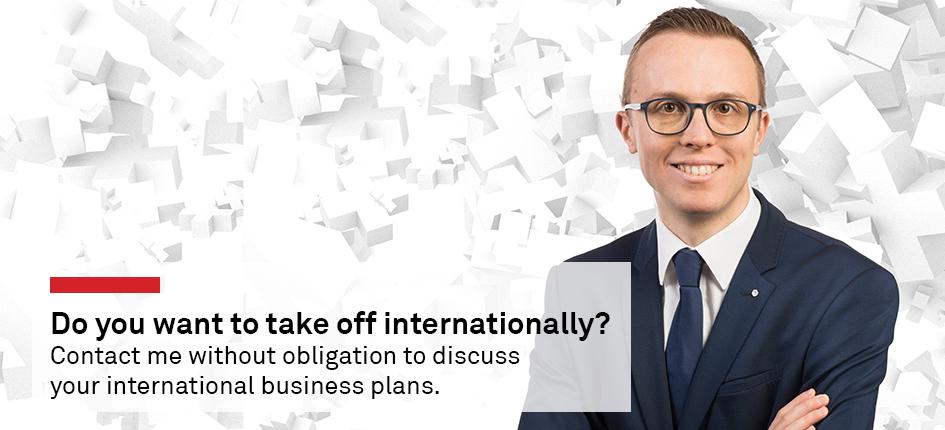 Do you want to take off internationally? Contact me without obligation to discuss your international business plans.