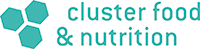 Logo cluster food and nutrition