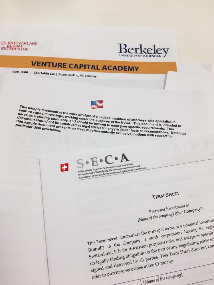 Venture Capital: Startups must choose their investors wisely | S-GE