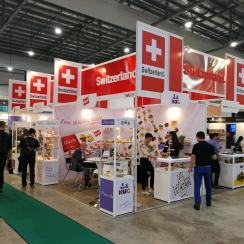 SWISS Pavilion at FHA 2018