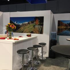 Hospitality Area SWISS Pavilion at NPE 2018