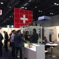 SWISS Pavilion at NPE 2018