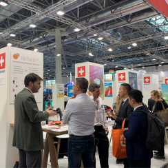 SWISS Corner @ MEDICA START-UP PARK 2019