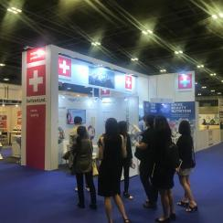 SWISS Pavilion at Asia Health 2018