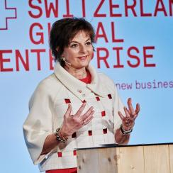 Ruth Metzler-Arnold, Chairwoman of the Supervisory Board of Switzerland Global Enterprise