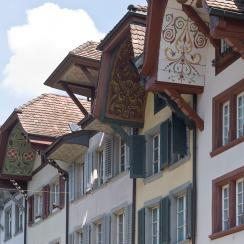 Aargau's capital Aarau is famous for its picturesque old town © Aargau Tourismus