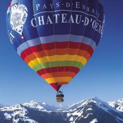 Château-d'Oex - hot air balloon