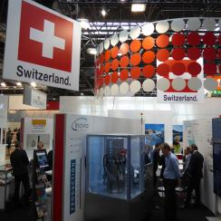 SWISS Pavilion at interpack 2017