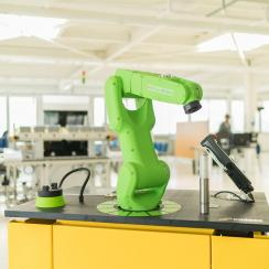 Robotik in der Swiss Smart Factory