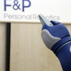 F&P robots are capable of learning and collaborate with human.