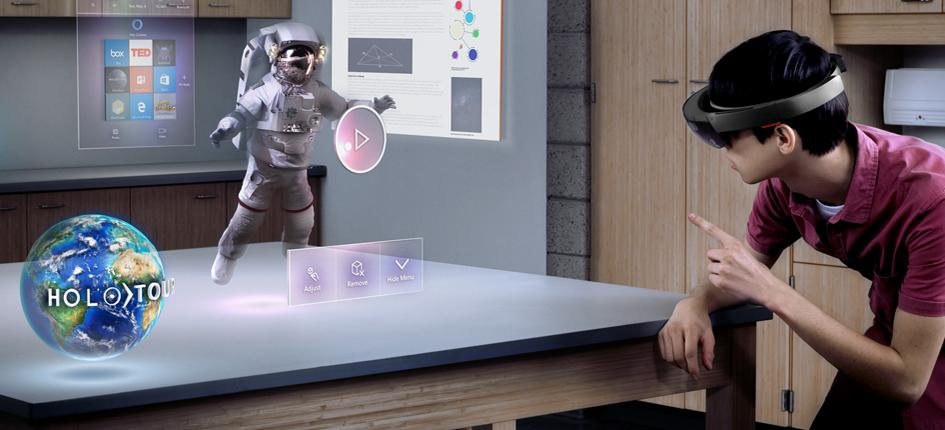 Microsoft and ETH Zurich have agreed to collaborate in the area of mixed reality. (Image credit: Microsoft)