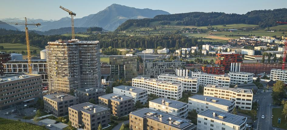 The Suurstoffi site will also be home to the Central Switzerland Innovation Park. Image: ZugEstates