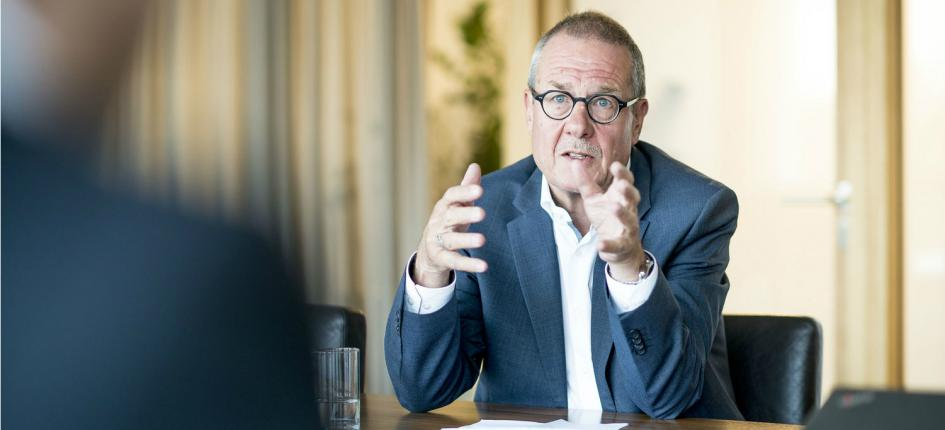 Dieter Gosteli knows where the risks for Swiss exporters are to be found