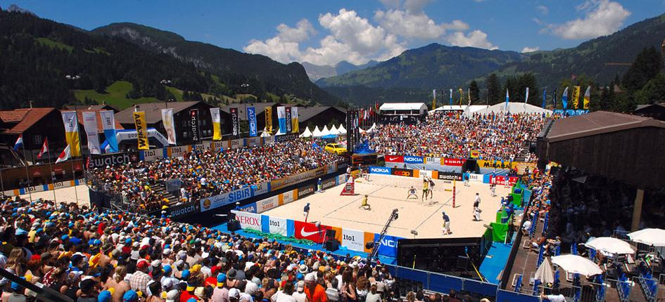 Beachvolley Gstaad