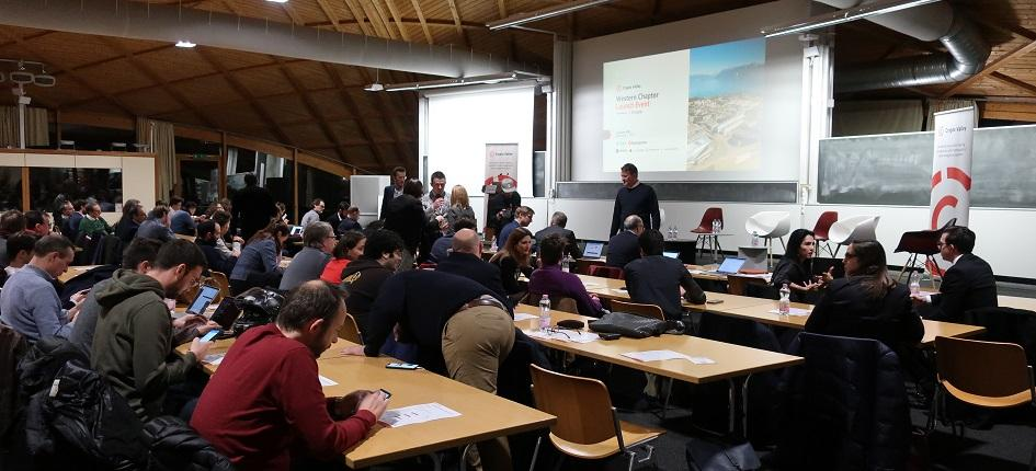 Launch event of the Western Switzerland Chapter of the Crypto Valley Association held at EPFL on 2nd December 2019