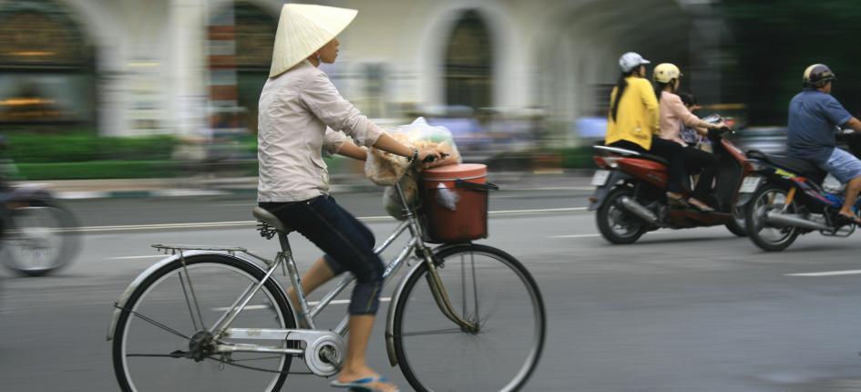 There is strong economic momentum in frontier markets such as Vietnam.