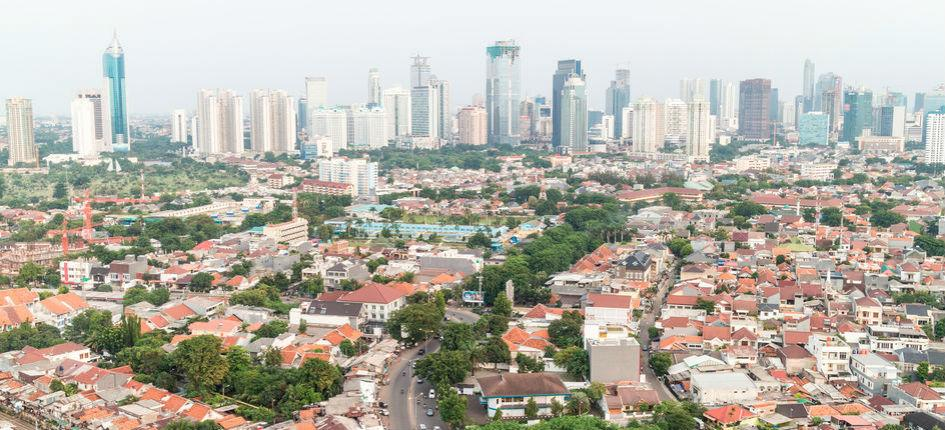Growing middle class: a residential district in Jakarta