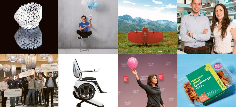 Spin-offs from the Swiss Federal Institute of Technology in Zurich (ETH).