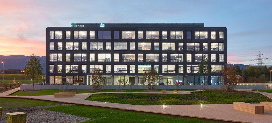 HPE Headquarters in Meyrin