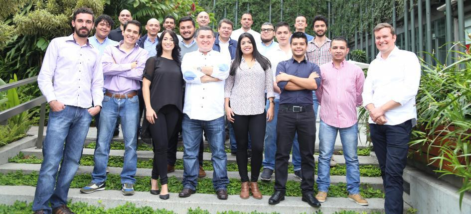 Il Team di Netcentric in Colombia.