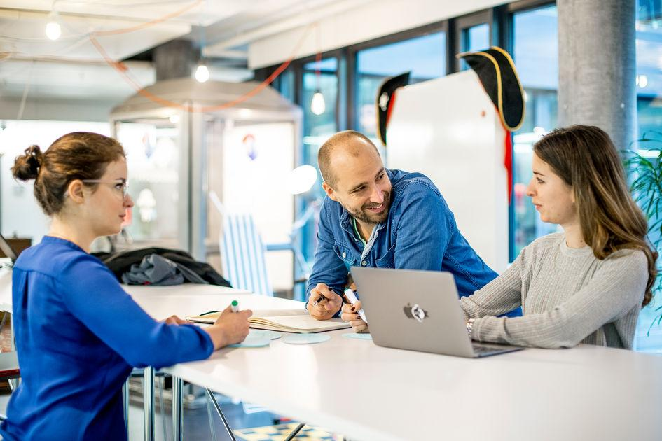 """The Pirates Hub"" Co-Working Space of Swisscom to promote young ICT start-ups"