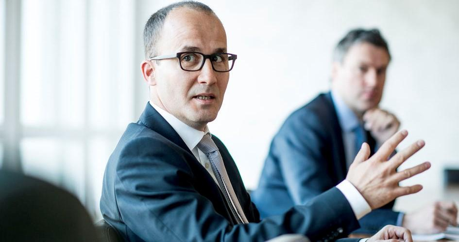 Christian Wyss, Head of Cargo Quality + Services im Gespräch beim CEO-Roundtable.