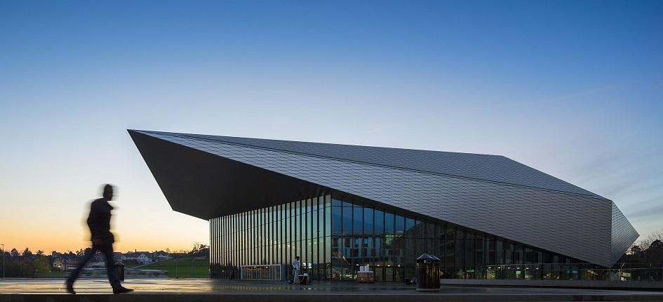 SwissTech Convention Center in Lausanne