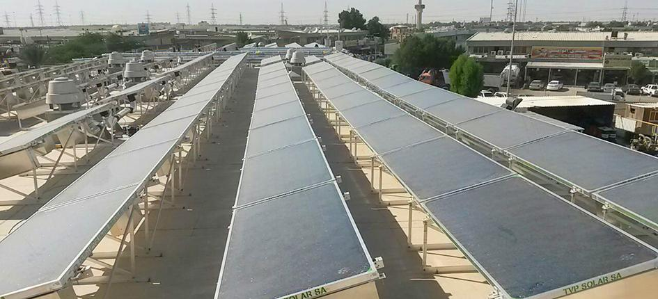 Panels from TVP Solar in Kuwait