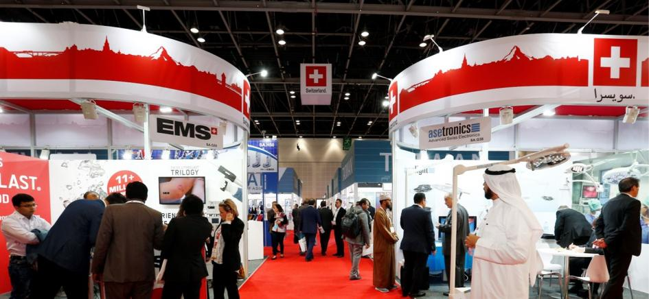 SWISS Pavilion @ Arab Health