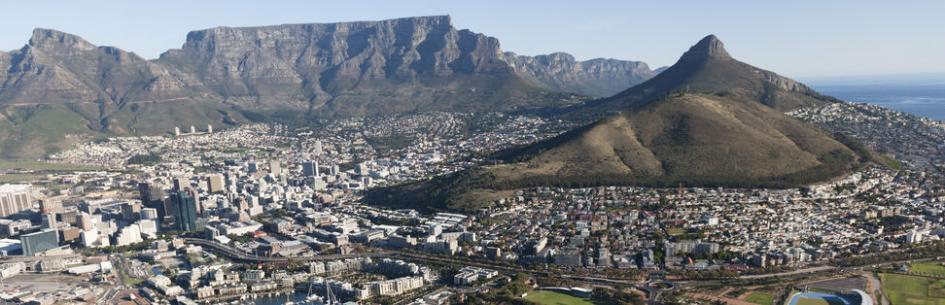 A view of Cape Town