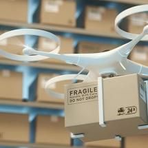 Drone deployment for logistics