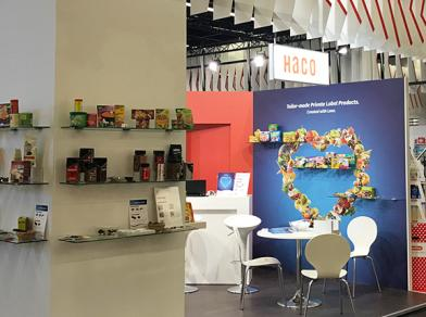 HACO as part of the Swiss Pavilion at the Anuga food trade fair
