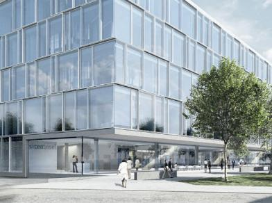 Among other things, Jobst Willers Engineering helped design the Sitem research building on the University Hospital of Bern campus.