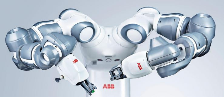 The ABB robot YuMi was developed for human-robot collaboration. Image credit: ABB