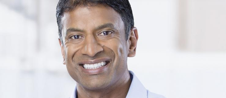 According to Novartis CEO Vas Narasimhan, the first studies with the antimalarial drug give hope in the fight against corona. Image credit: Novartis
