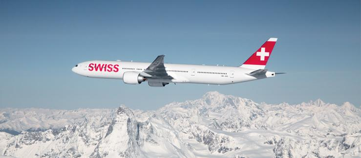 Swiss airplane