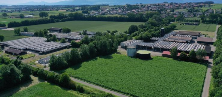 AgriCo campus in St-Aubin