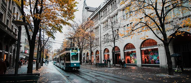 BrickMark has purchased a building on Zurich Bahnhofstrasse with tokens. Image Credit: Pxhere
