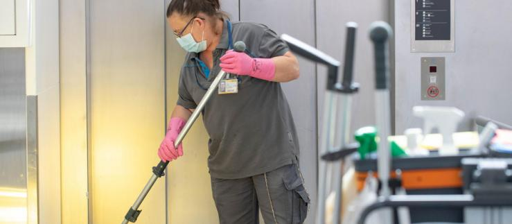 By international comparison, cleanliness is one of the strengths of Zurich Airport.