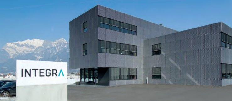 Integra AG Headquarters in Zizers, Schweiz