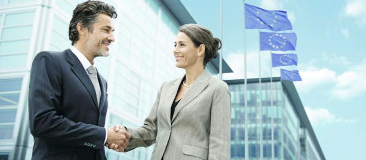 Maintain personal contact with your business partner in Germany