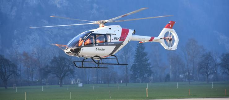 Helicopter of the Kopter Group