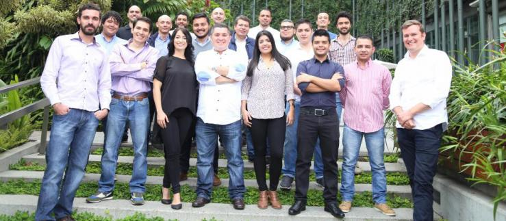 The team of Netcentric Colombia.