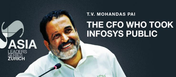 "Mohandas Pai: ""India and Switzerland's trade and investment have not yet realized their full potential."""