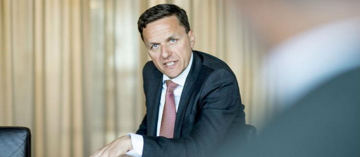 Lengthy experience in supporting SMEs: Andreas Gerber, Head of SME Business at Credit Suisse Switzerland