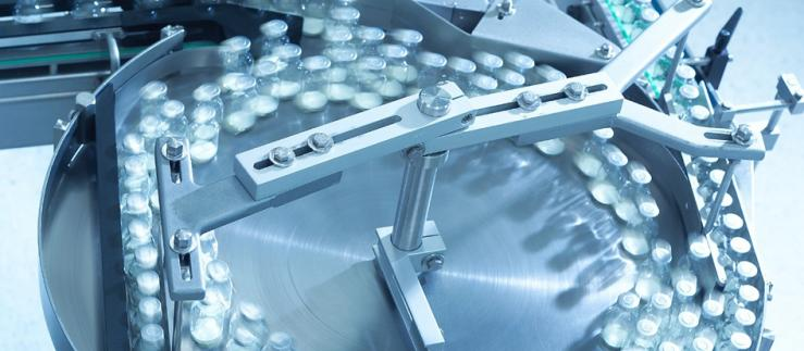 Pharmaceutical production.