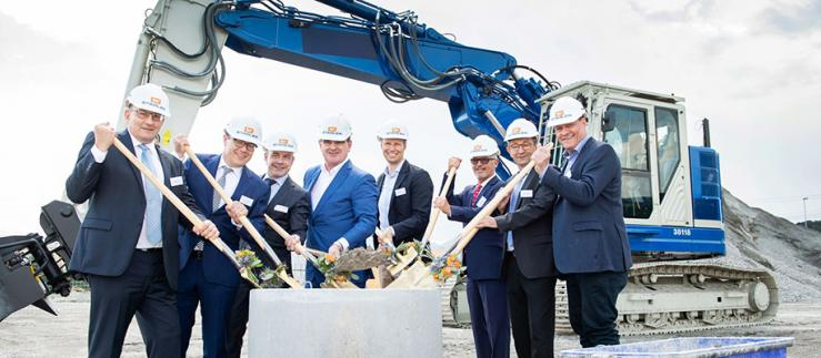Stadler ground-breaking ceremony