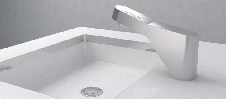 Smixin systems save 90% of water and 60% of soap compared to regular hand washing