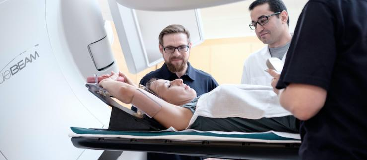 Radiotherapy for cancer treatment